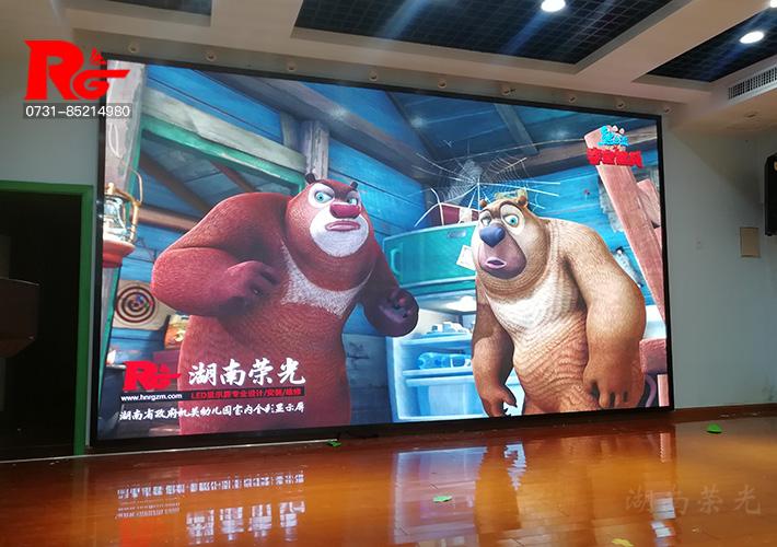 湖南省政府机关幼儿园LED显示屏项目通过验收交付使用