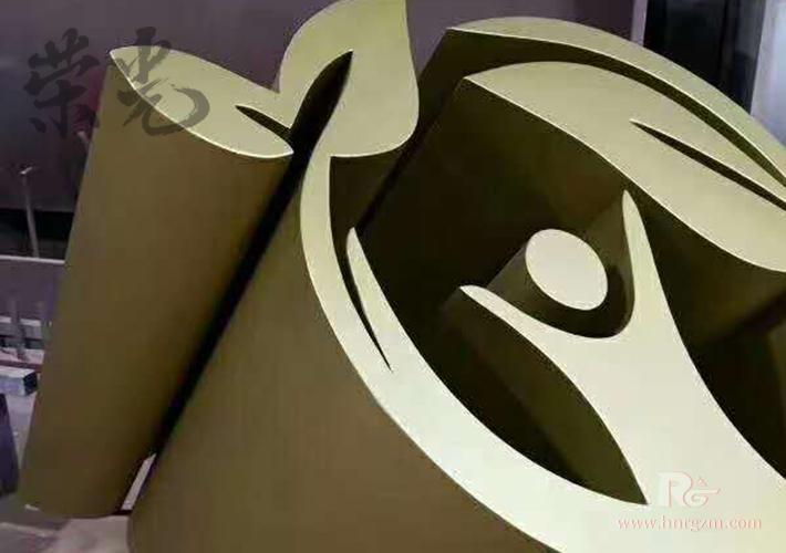长沙大型立体字加工 不锈钢烤漆字 三维字制作