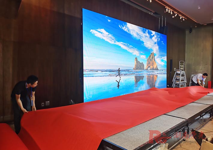 活动LED显示屏搭建 会议显示屏租赁服务 长沙显示屏租赁